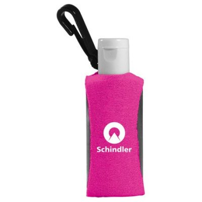 1-oz. Custom Label Sanitizer w/ Sleeve