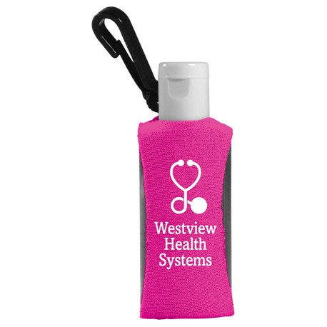 1-oz. Hand Sanitizer w/ Neoprene Sleeve
