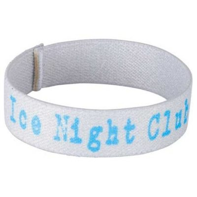 "Full Color 3/4"" Elastic Wristband"