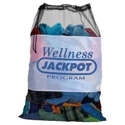 Mesh Laundry Cinch Bag