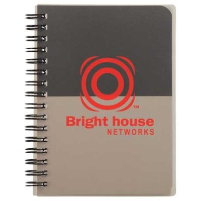 "4.5"" x 6"" Color Block Notebook - Small"