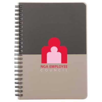 """6"""" x 8"""" Color Block Notebook - Large"""