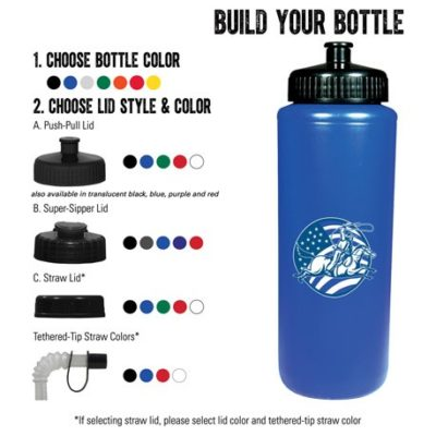 Classic Squeeze 32oz Sports Bottle