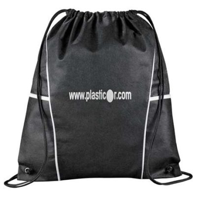 Diamond Non-Woven Drawstring Bag