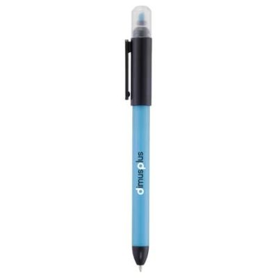 Double-Trouble Ballpoint Pen-Highlighter