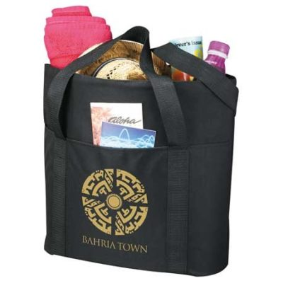 Heavy Duty Zippered Convention Tote