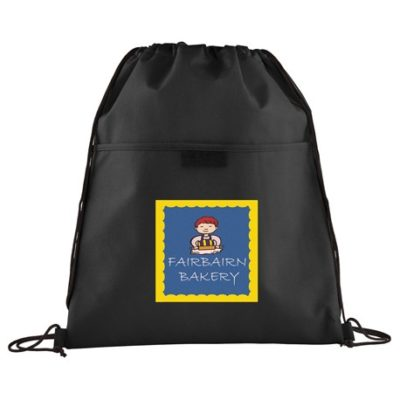 Insulated Non-Woven Drawstring Bag