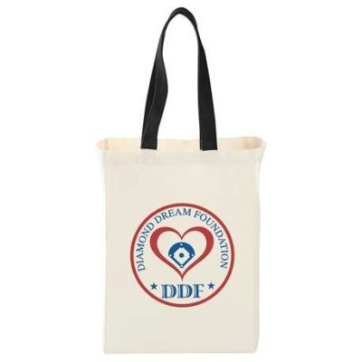 Natural 5oz Cotton Canvas Grocery Tote