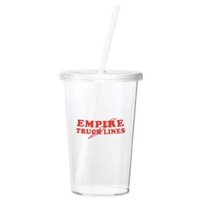 Sizzle 16oz Tumbler with Straw