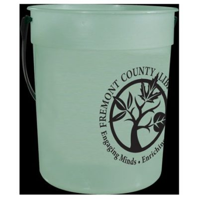 87oz Glow-in--Dark Pail with Handle