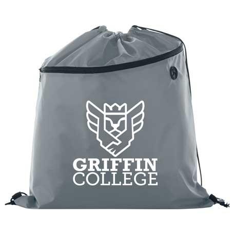 Large Robin Drawstring Bag