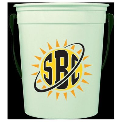 32oz Glow-in-the-Dark Pail with Handle