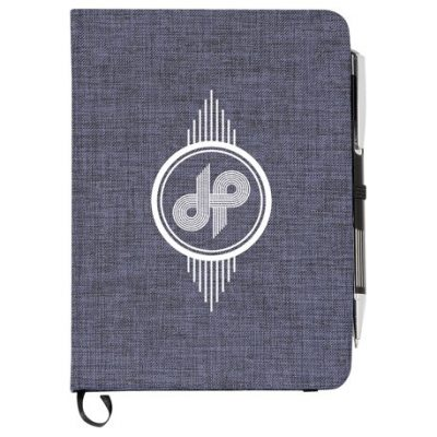 """5"""" x 7"""" Heathered Bound Notebook"""