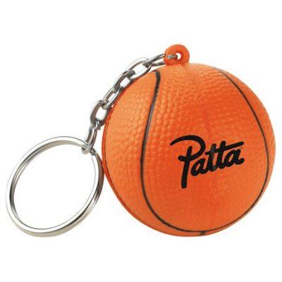 Slam-Dunk Basketball Keychain