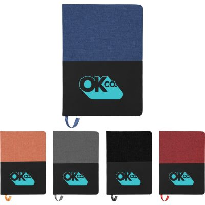 """5"""" x 7"""" Color Punch Notebook"""