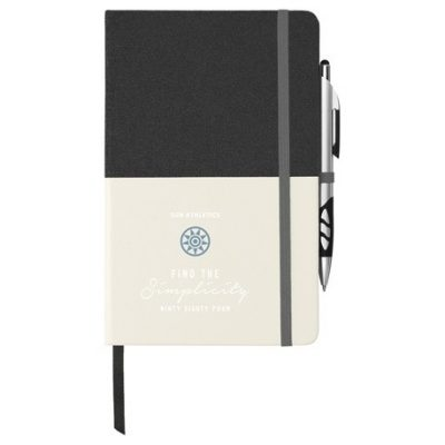 """5"""" x 8"""" Two Tone Bound Notebook"""