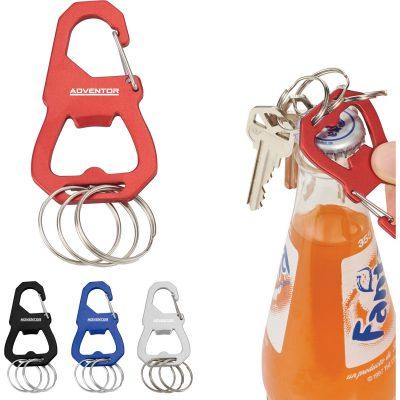 Keyrings Carabiner with Bottle Opener