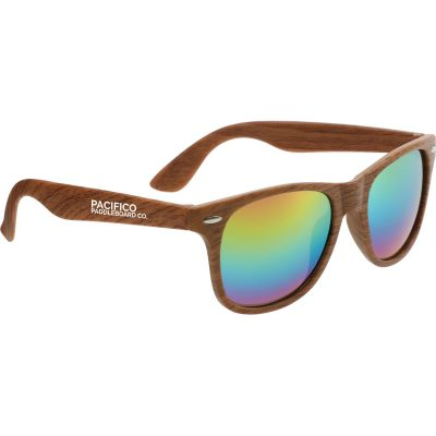 Allen Sunglasses with Mirrored Lenses