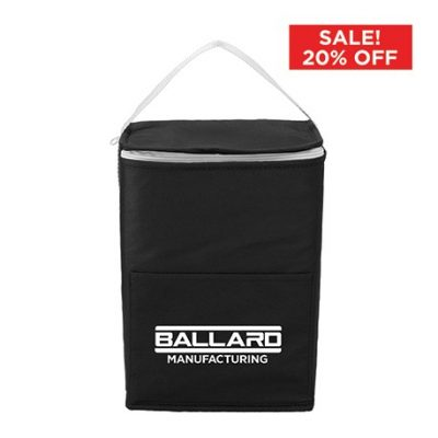 Budget Tall Non-Woven 12 Can Lunch Coole