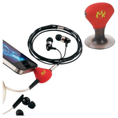 2-in-1 3.5mm Music Splitter and Phone Stand