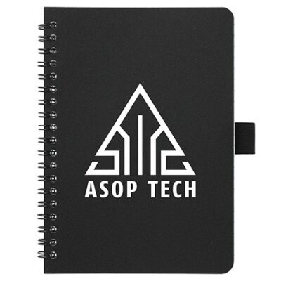 """5"""" x 7"""" Spiral Notebook with Antimicrobial"""